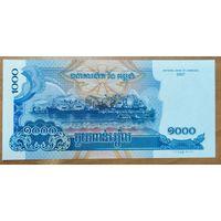 1000 риелей 2007 года - Камбоджа - UNC