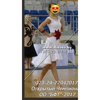 Платье для бальных танцев рост 164-170