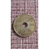 Египет 10 миллим 1917 г