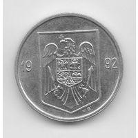 РУМЫНИЯ 5 ЛЕЙ 1992. UNC. НЕЧАСТАЯ