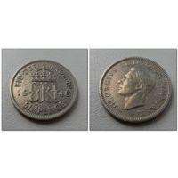 6 пенсов Великобритания 1948 г.в. KM# 862, 6 PENCE, из коллекции