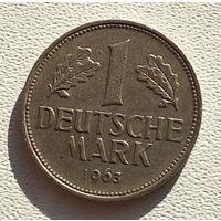 """Германия 1 марка, 1963 """"G"""" - Карлсруэ 5-2-22"""