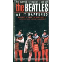 4CD-set & Colour Booklet The Beatles As It Happened The Classic Interviews  (November 21, 2000)