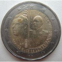 Люксембург 2 евро 2017 г. 200 лет со дня рождения Виллема III (m)
