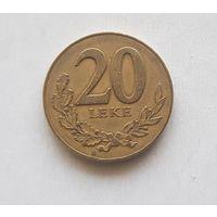 Албания 20 лек 2000 г.