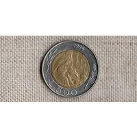 Сан-Марино 500 лир 1994 /биметалл//FV/
