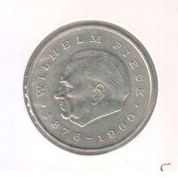 20 марок 1972 года ГДР Вильгельм Пик в холдере 25
