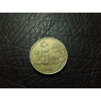 25000 лир 1996