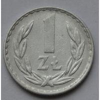 Польша 1 злотый, 1977 г.