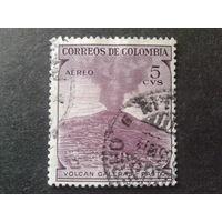 Колумбия 1954 извержение вулкана