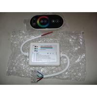 Контроллер для цветных светодиодных лент, новый, не использовался, 12-24В, 216Вт.
