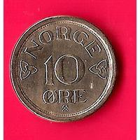 29-41 Норвегия, 10 эре 1957 г