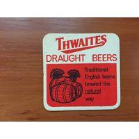 Подставка под пиво Thwaites /Великобритания/ No 2