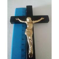 Распятие Иисус Христос крест дерево на стену