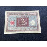 Германия,2 марки,1920