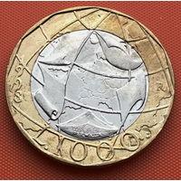 119-12 Италия, 1000 лир 1998 г.
