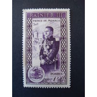 Монако. Mi:MC 410 1950 год * Принц Ренье III (князь)