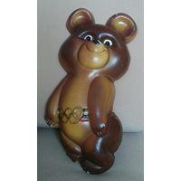 Олимпийский мишка СССР Панно гипс Большой 30 см