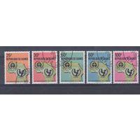 [1780] Гвинея 1972. 25 лет ЮНЕСКО. Гашеная серия.