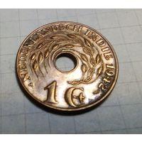 Нидерландская Восточная Индия 1 цент 1942