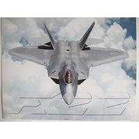 Фото многоцелевого истребителя пятого поколения F-22 Raptor