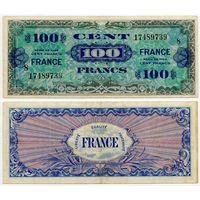 Франция. 100 франков (образца 1944 года, P123c)