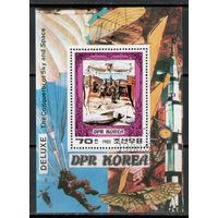 Корея /КНДР/1980/ Авиация / Покорители Неба / Граф Цеппелин / Блок