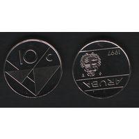 Аруба _km2 10 центов 1997 год (ba) (b06)