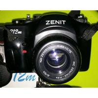 Зенит 312м MC + Zenitar - M2s .Зенитар.