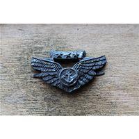 Нагрудный знак лётчика авиации США Война.