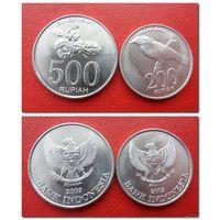 200 и 500 рупий Индонезия 2003 год (цена за все) - из коллекции