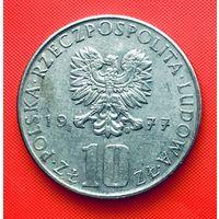 13-09 Польша, 10 злотых 1977 г. Болеслав Прус
