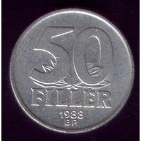 50 филлер 1988 год Венгрия