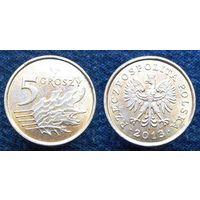 W: Польша 5 грошей 2013 (657)