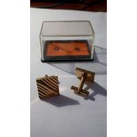 Запонки металлические из СССР