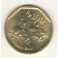 100 рупий 1998 г.
