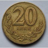 Албания, 20 леков 1996 г.