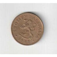 20 пенни 1963 года Финляндии
