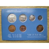 Нидерланды годовой сет монет 1989 в оригинальной упаковке - UNC