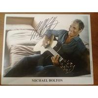 Автограф Майкла Болтона