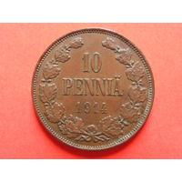 10 пенни 1914 медь