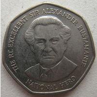 Ямайка 1 доллар 1996 г. (g)