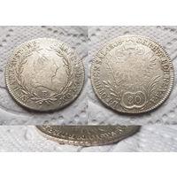 Австрия 1805 20 крейцеров, Карлсбург Е