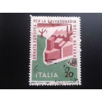 Италия 1970 символический рисунок
