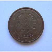 2 евроцента Германия 2006 G.