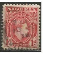 Нигерия. Король Георг VI. 1938г. Mi#48.