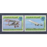 [2029] Мавритания 1982. Авиация.Самолеты.
