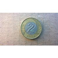 Польша 2 злотых, 1995г. (D-4)