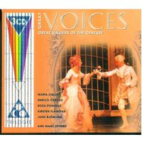 3CD-Box GREAT VOICES - Great Singers Of The Century (2001)