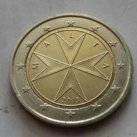 2 евро, Мальта 2013 г., AU
